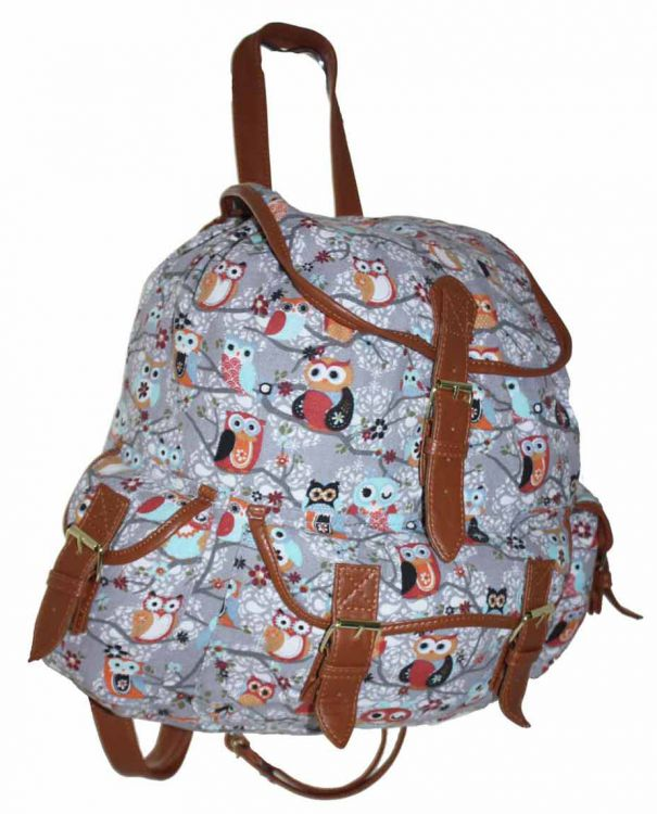 0304e93d7180c CB151 Plecak Neon Sowy Plecak Wycieczkowy Szkolny Turystyczny Miejski  Damski Plecaki .