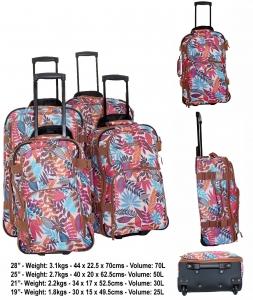 9ced57e087483 Zestaw 4 walizek podróżnych TB10099 Amazon Zestaw 4 walizek podróżnych  TB10099 Amazon