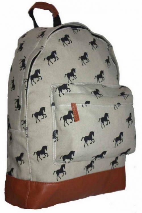 f7a95e47bcb4b ... BP241 Konie Plecak Wycieczkowy Szkolny Turystyczny Miejski Damski  OSTATNIA SZTUKA