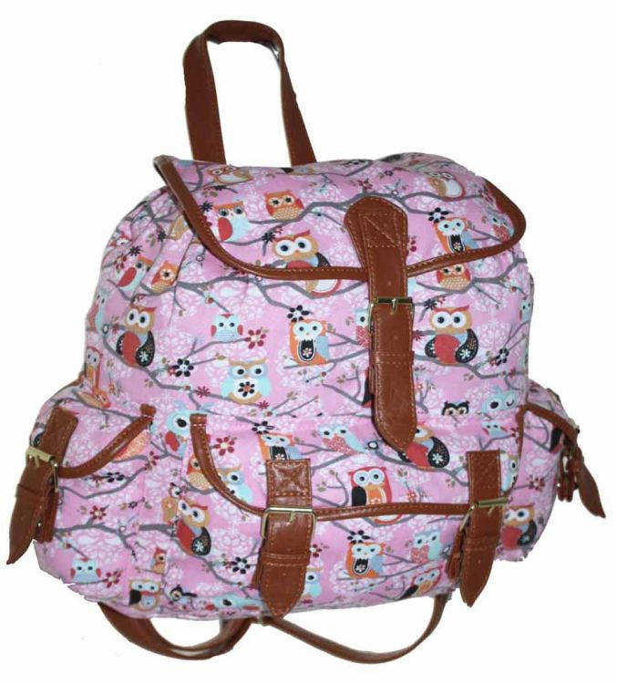 312d9c5af4de3 ... CB151 Plecak Neon Sowy Wycieczkowy Szkolny Turystyczny Miejski Damski  Plecaki