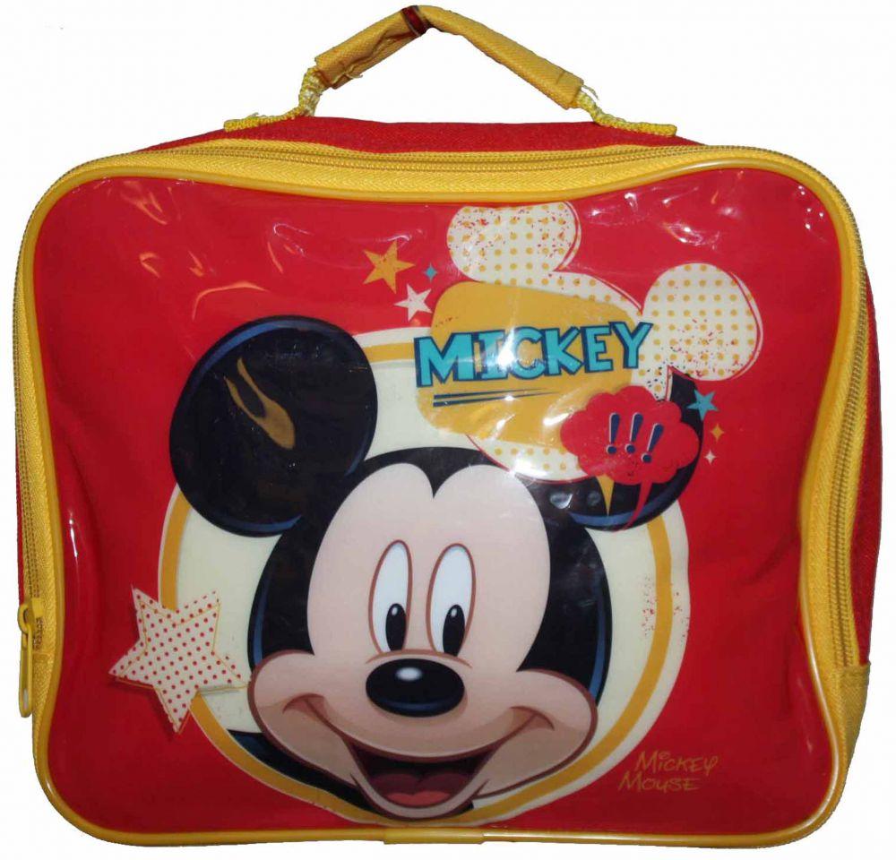 193e1d67cea52 MICKEY MOUSE Czerwony Lunch Box Dla Dzieci termiczna lodówka do szkoły,  przedszkola na wycieczki Disney
