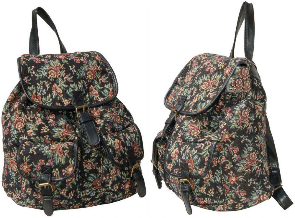 e881286c62f39 ... FB45 Vintage Plecak Damski Szkolny Miejski Turystyczny A4 ...