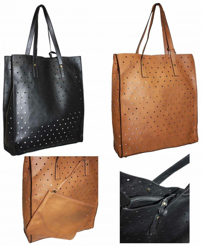 5d2e2749a78e0 PRIMARK ATMOSPHERE Shopper Bag A4 Torebka Damska + kosmetyczna ...