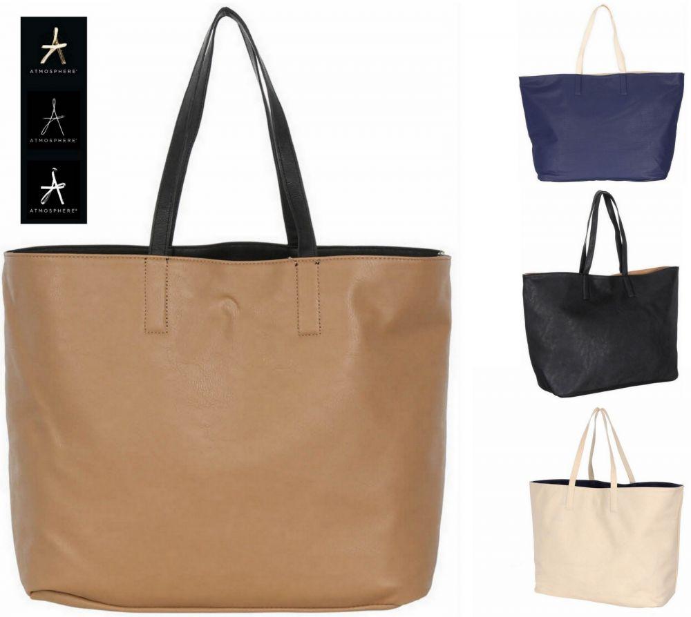 90ad4a5ea2247 ... Duża torebka dwustronna Shopper Bag PRIMARK PRZECENA WYPRZEDAŻ ...