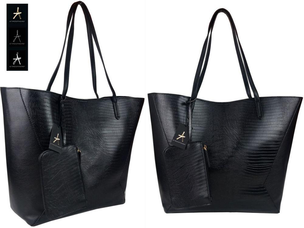 8cf1e96df0168 Torebka damska Shopper Bag PRIMARK A CZARNA Hurtownia Torebek ...