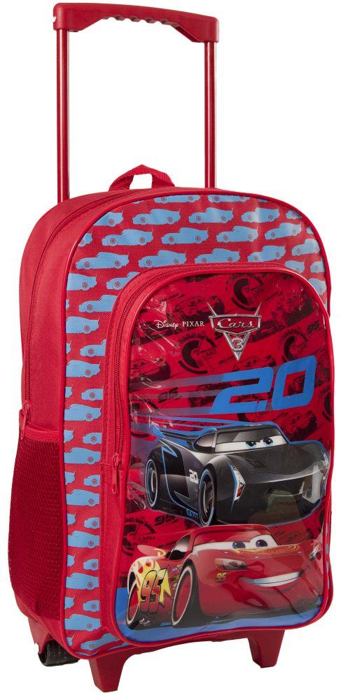 390f2296f57e9 ... Cars Auta 20 Walizka / Plecak na kółkach dla dzieci Walizeczka ...
