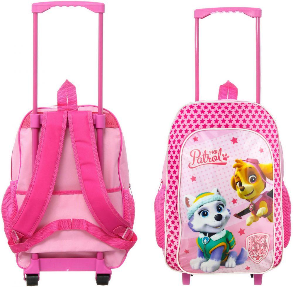 ce1920efe7433 Paw Patrol Girl różowa Walizka / Plecak na kółkach dla dzieci Walizeczka  Psi Patrol ...