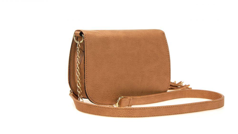 Piękna torebka listonoszka z frędzlami FB103 NOWE KOLORY