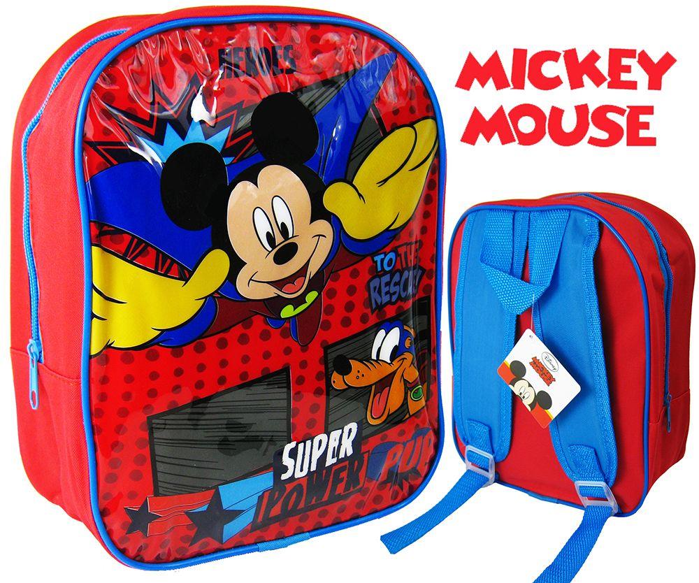 Plecak dziecięcy Myszka Mickey i Pluto Disney Hurtownia