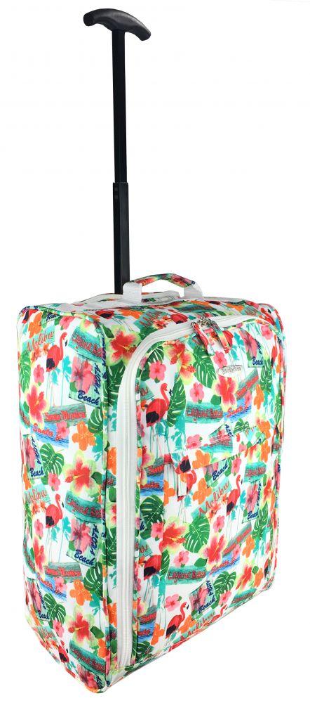 70ccacabfeeab8 ... TB05 Flamingi Walizka Podróżna na kółkach super lekka bagaż podręczny  Ryanair, ...