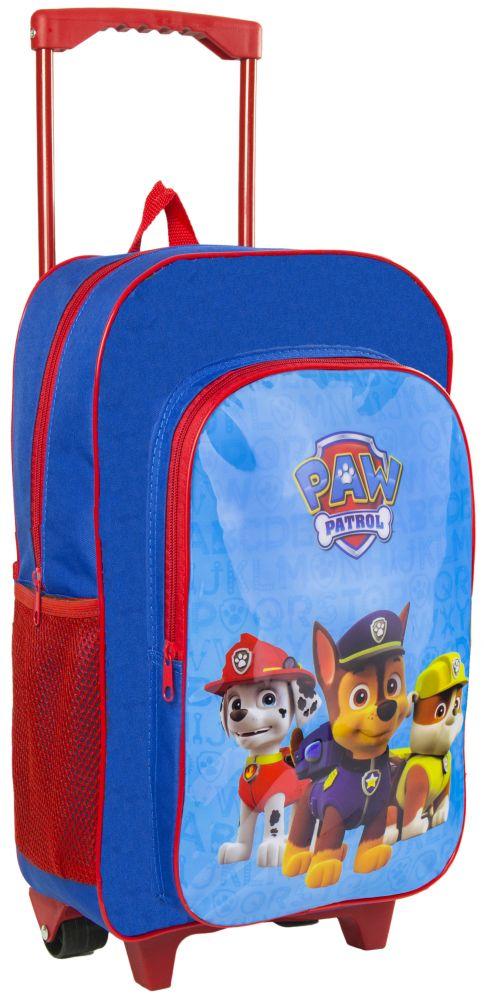 19b727d197335 ... Walizka / Plecak na kółkach dla dzieci Walizeczka Psi Patrol Boy Granat/ czerwony ...
