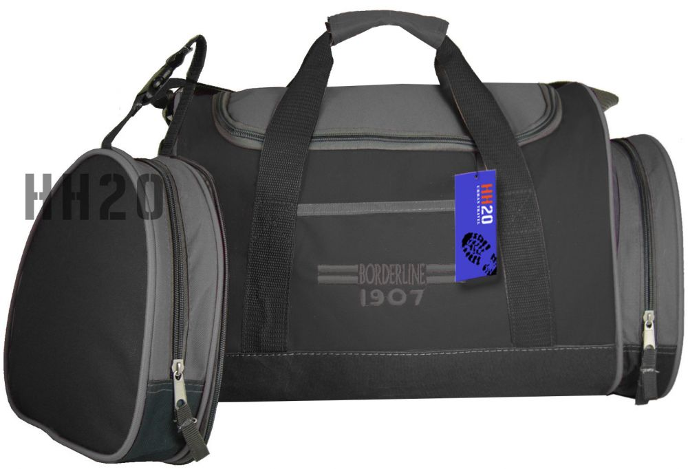 8cc876ad3d431 SB07 Torba Sportowa Podróżna Bagaż Podręczny z dopinaną kieszenią boczną ...
