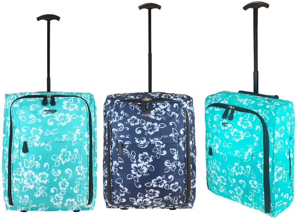 a68905446df11 TB05 Print Walizka Podróżna na kółkach super lekka bagaż podręczny Ryanair