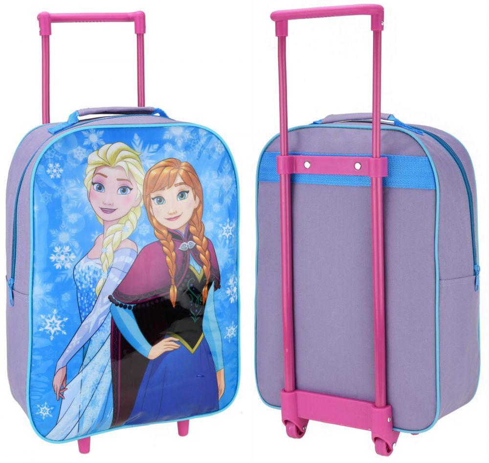 Walizka na kółkach Frozen Kraina Lodu Anna i Elsa