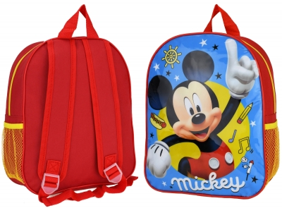 Mickey Myszka Miki Niebiesko/Czerwony Plecaczek dla Dzieci