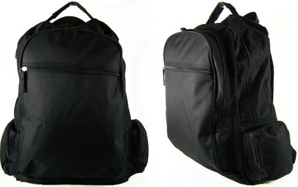 882ff1def386e AKA192 Plecak Uniwersalny Szkolny Turystyczny Sportowy Miejski Blogerski  Wycieczkowy Kolor Czarny ...